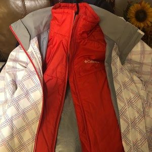 Two system Columbia jacket